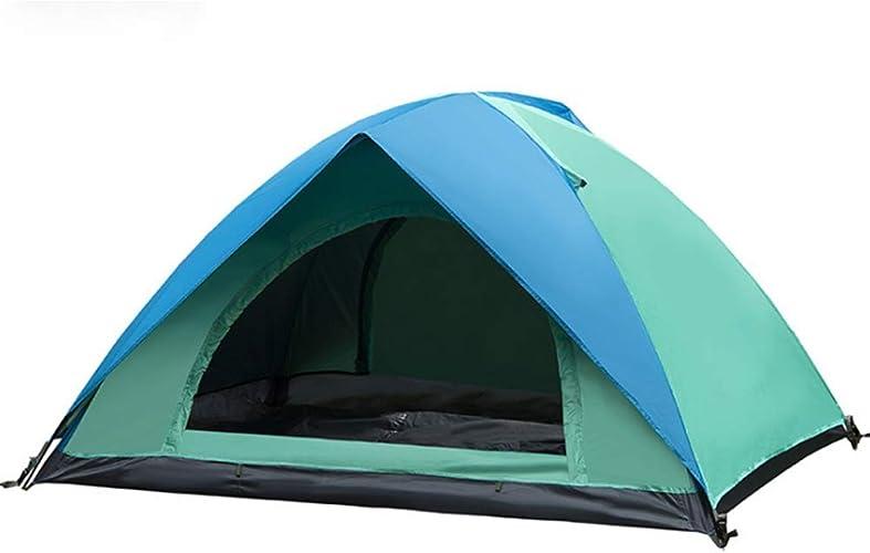 QI5 Tente à Deux étages Tente Anti-tempête Camping Tente Plage Tente Produits d'extérieur
