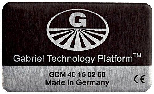 """Gabriel-Chip """"SmartPhone mit fest integriertem Akku"""" – schwarz"""