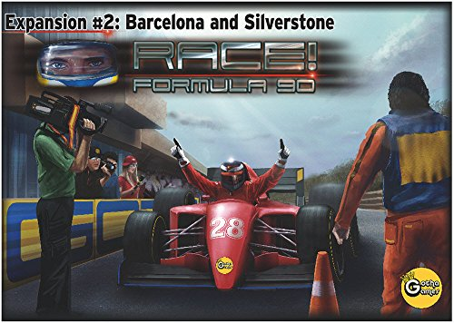 Race! Formula 90: Expansion #2 - Barcelona and Silverstone board game