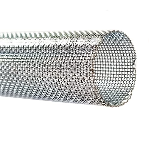 Siebhülsen Metall Gitterhülsen für Verbundmörtel Ankerhülsen Hülsen Ø12mm - Ø22mm (Metall, Ø 16mm x 1m)