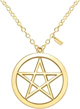 silver pentacle jewelry