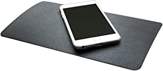 DS.DISTINCTIVE STYLE Car Dashboard Mat 10.5x5.9 Inches Extra Large Non-Slip Sticky Pad Anti Slip Mat Adhesive Mat for Phones, Glasses, Keys (Leather Grain)