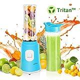 Aigostar Sky 30IWX - Mini blender mixeur portable pour smoothies, milk-shakes et jus de fruits sans...