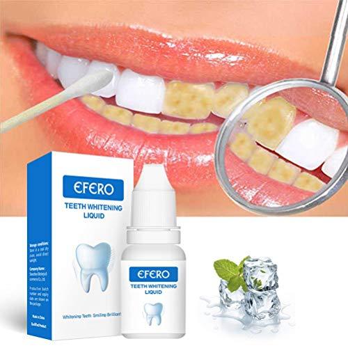 SJTJA Zahnreinigungspulver Teeth Whitening Essence Pulver Zahnpulver für Kaffee-Tee-Flecken Cola Zahnpulver