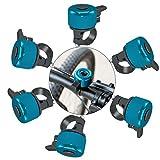 Timbre de Bicicleta,Aluminio Timbre,Timbre para Bicicleta Infantil,Timbre de Bicicleta,Campana de Bicicleta,Mini Timbre de Bicicleta (A)