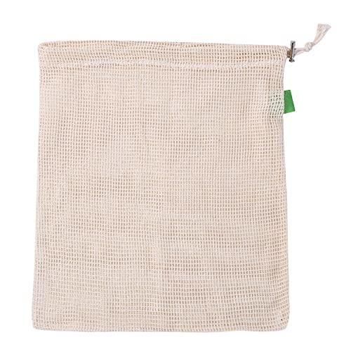 EMFGJ Wiederverwendbare Obst-Meah-Beutel Waschbare hängende Aufbewahrungsbeutel mit großer Kapazität Pflanzenfrucht-Schutz-Netzbeutel für den Einkauf Aufbewahrung von Obstgemüse,30 * 40cm Modelle