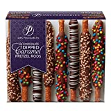 Mrs. Prindables 24 Chocolate Dipped Caramel Pretzel Rods 2.11 lbs (2020 edition)