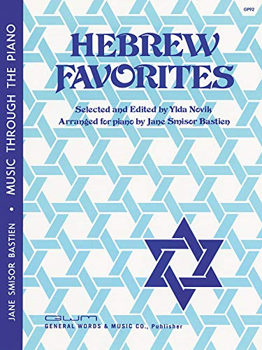 Hebrew Favorites (Music Through The Piano Library)