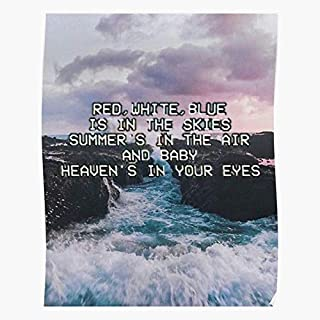 Rey Grunge Lana Cooltop Trending Wall Art Decor Gift Showtime Poster
