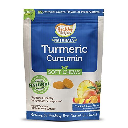 Healthy Delights Naturals Turmeric Curcumin Soft Chews