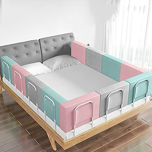 Baby Bed Rail, Toddlers Anti-Drop Bed Rail Adjustable Hight Child Bed Barrier Baby Kids Guard Fence Protective For Cot For Small Children Or Beds For Adults