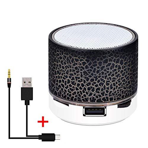 LeKing Piccolo Bluetooth Senza Fili Colorato colorato Crepa Suono Altoparlante Audio Telefono Cellulare Mini Subwoofer Supporto AUX/F Card/U Disk