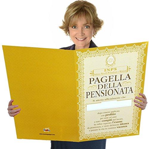 Bombo Pagella Della Pensionata.