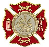 """FIRE & EMS, Fire Department LOGO Shild - Original Artwork, Expertly Designed PIN - 1"""""""