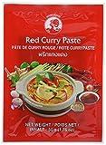 12 paquetes de pasta de curry roja de la marca COCK [12x 50g] pasta de curry roja