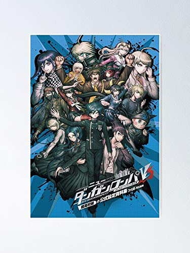 """Danganronpa V3 Killing Harmony - Poster Best Gift for Your Parent and Peoples, Decorate Room. No Frame Board, 12.75"""" X 17"""""""