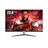 PC Monitor, Ultra dünnes 23,8 Zoll Full HD 60Hz...