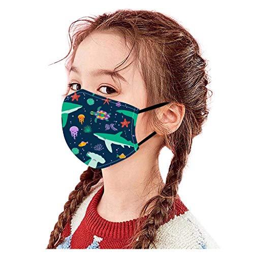 ZHX Atmungsaktive Mundmasken Schutztuch Gesichtsschutz Schutzhülle Outdoor Schutztuch staubdicht Winddicht Mund Schal 3 Stück für die persönliche Gesundheit Einstellbar Sportmaske (H)