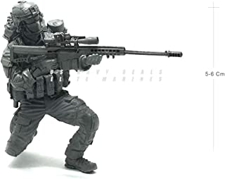 1:35 US Special Forces Iraq Sniper with Walkie Talkie Scale Resin Figure Plastic Unassembled Model