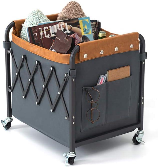 Whitsunday Home Clothes Laundry Organizer Cart Columbus Mall Detroit Mall Foldable Storage