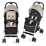 Brevi 709-580 Mini Large Passeggino, Beige Tweed