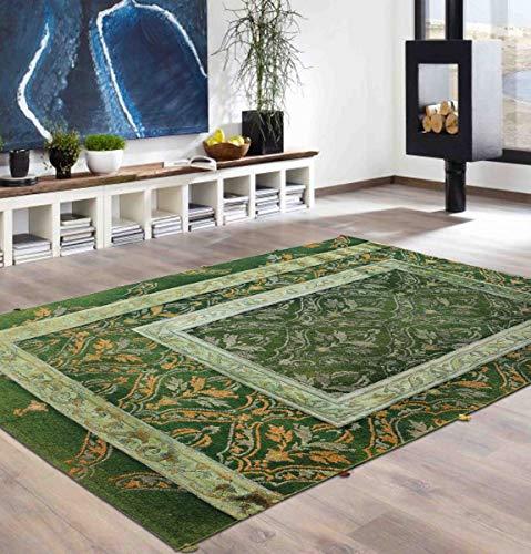 Blackamoor Rugs Baluch Sumak Teppich, 170 x 240 cm, handgeknüpft, orientalischer Stil, Seide und Wolle