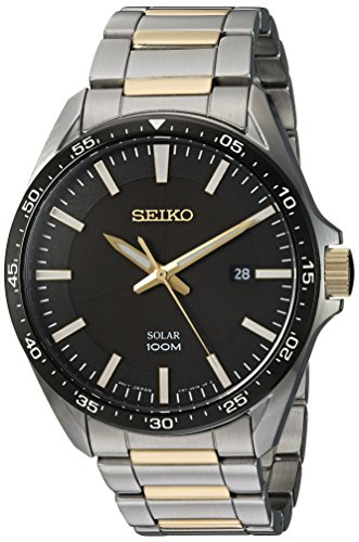 Fashion Shopping Seiko Men's Sport Watches Japanese-Quartz Stainless-Steel