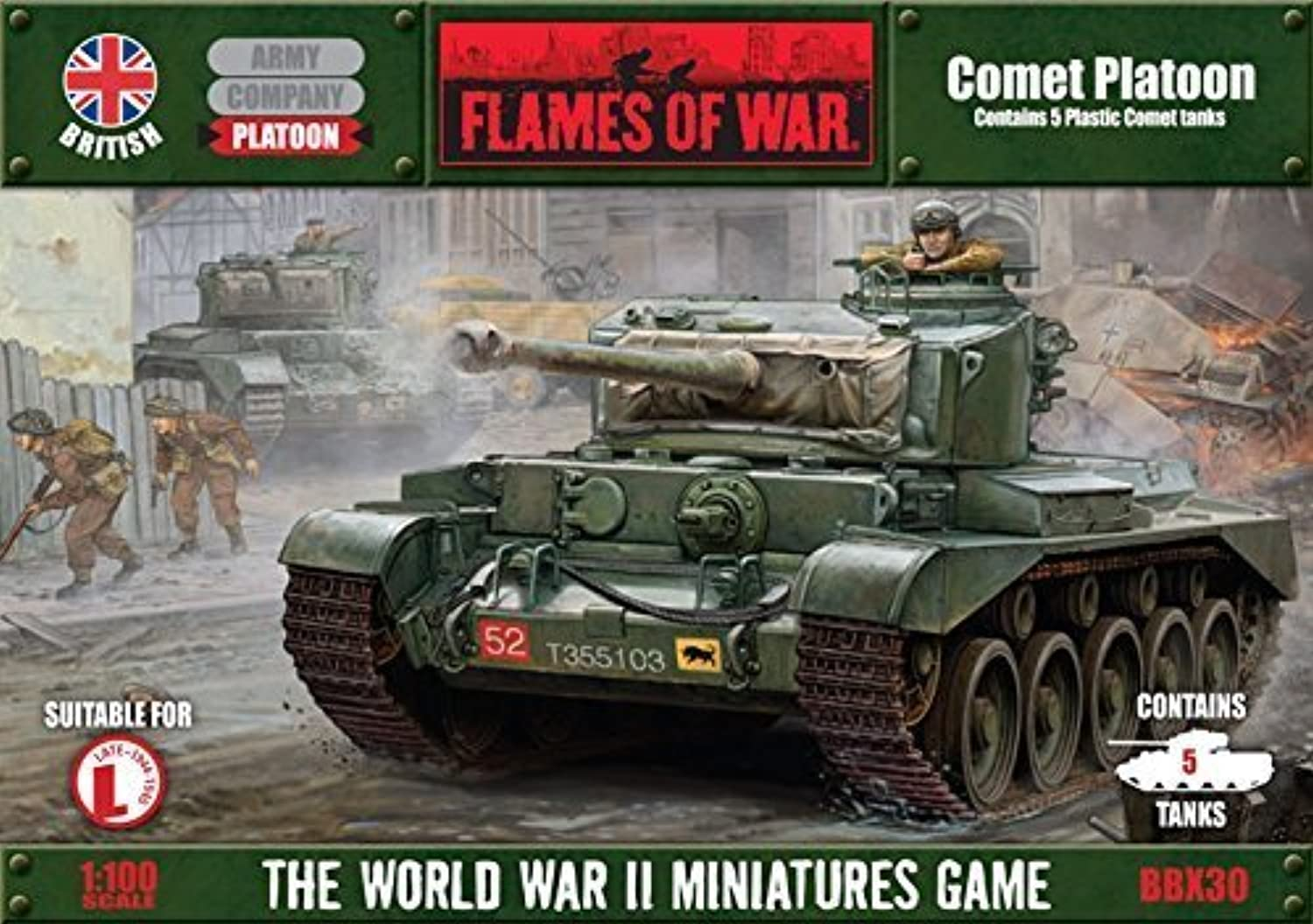 Comet Platoon  WWII Miniatures Game by Flames of War