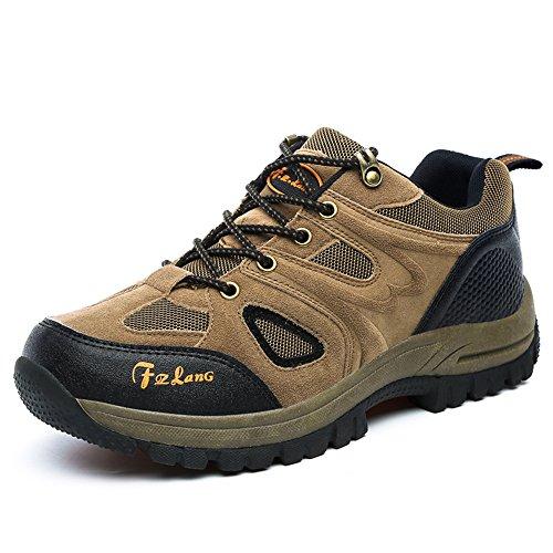 Hishoes Homme Femme Chaussures de Randonnée Outdoor Imperméabl Running Trail Camping Alpinisme Montagne Chaussures de Sport Sneaker 36-48