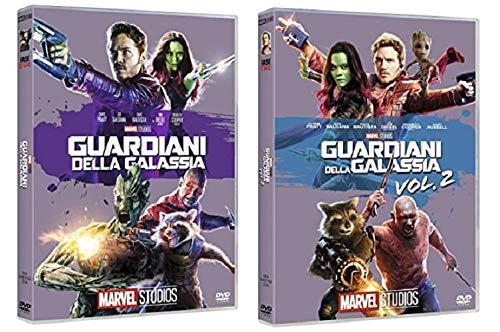 GUARDIANI DELLA GALASSIA 1 + 2 (2 FILM IN DVD) EDIZIONE ITALIANA