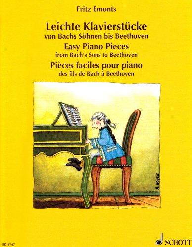 Leichte Klavierstücke von Bachs Söhnen bis Beethoven: Klavier.