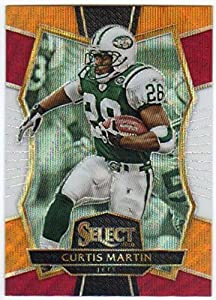 2016 Panini Select Premier Level Tri-Color Prizm #171 Curtis Martin NY Jets