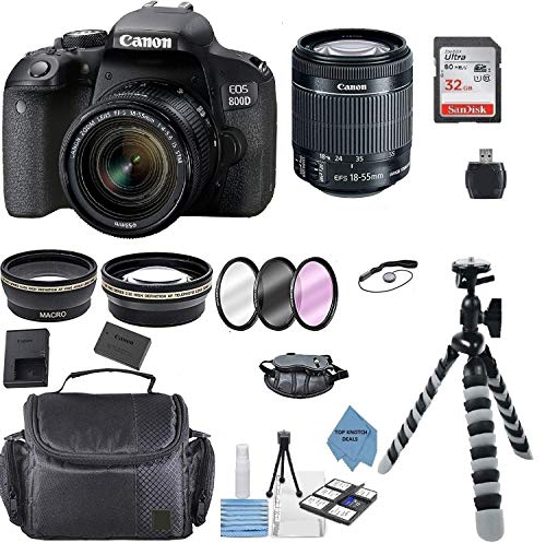 Canon EOS 800D Rebel T7i Kit with EF-S 18-55mm...