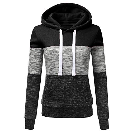 New Panfinggin Lightweight Pullover Long Sleeve Fashion Hoodie Sweatshirt for Women with Plus Size B...