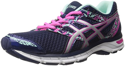 ASICS Women's Gel-Excite 4 Running Shoe, Blueprint/Silver/Mint, 9 M US