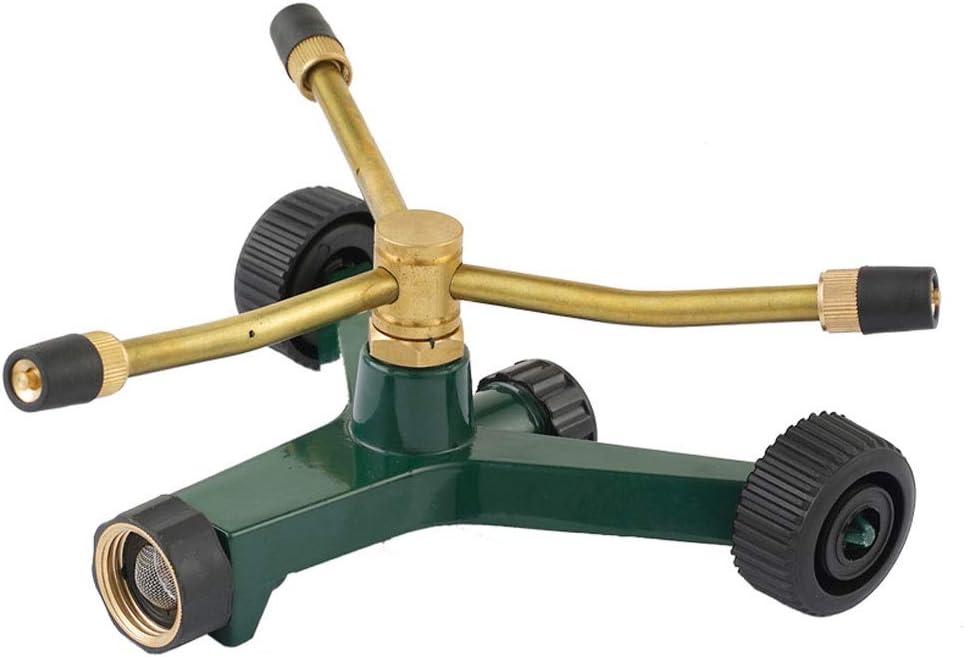 ZSLLO Recommended Mobile Garden Sprinkler 360 Water Over item handling Rotating Sprinkle