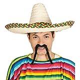 Guirca Fiestas GUI13614 - Sombrero mexicano paja 50 cms
