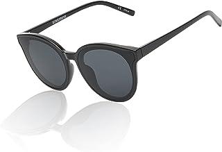 Classic Round Cat Eye Sunglasses for Women Retro Large...