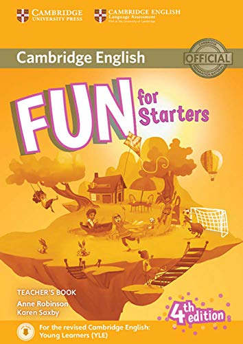Fun for Starters Teacher's B. with download. audio/4th Ed.