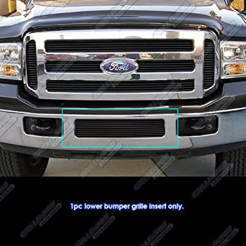 APS Compatible with 2005-2007 Ford F250 F350 Super Duty Excursion Billet Grille S18-A99756F