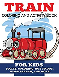 rain Coloring and Activity Book for Kids: Mazes, Coloring, Dot to Dot, Word Search, and More!
