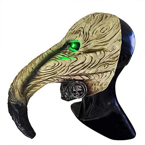 QUUY Máscara de pájaro de la peste de Doctor de nariz larga, pico de pájaro steampunk para Halloween, steampunk de nariz larga máscara de pico de disfraz