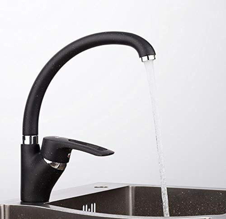 Küchenmischer Moderne MultiFarbe Sprühfarbe Küchenarmatur Wasserhahn Kalt- und Warmwassermischer Einhand 360-Grad-Drehung