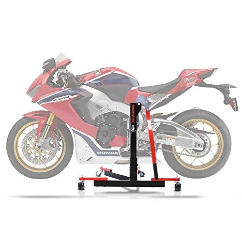 Bequille d'atelier Centrale ConStands Power Evo pour Honda CBR 1000 RR Fireblade SP-2 17-18 Rouge