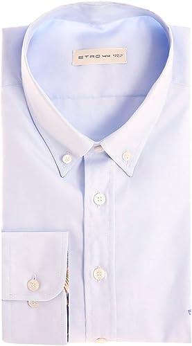 Etro Button Down Shirt lumière bleu, Homme.
