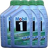 Kit vidange Huile MOBIL1 5W30 ESP Formula LT6 + 4 filtres Bosch pour Mercedes Classe A160- A180- A200 CDI W169, Mercedes Classe B 180 -B200 CDI W245