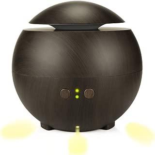 XIAOYUB 600Ml Wood Grain Aroma Humidifier Household Air Purifier Aromatherapy Machine Silent Humidifie
