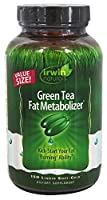 Irwin Naturals Green Tea Fat Metabolizer 液体ソフトジェル150 錠