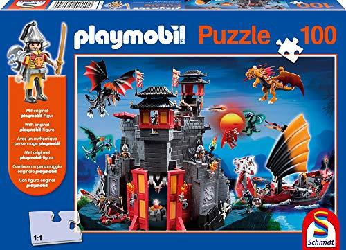 Playmobil, Geheime Drakenburcht, 100 stukjes Puzzel
