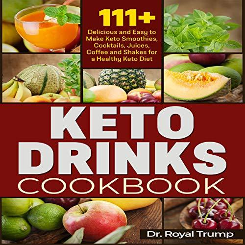 Keto Drinks Cookbook Titelbild